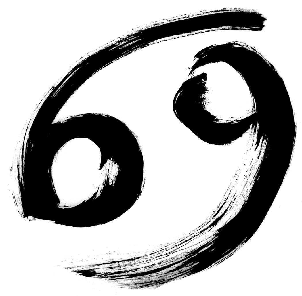 astrological cancer symbol