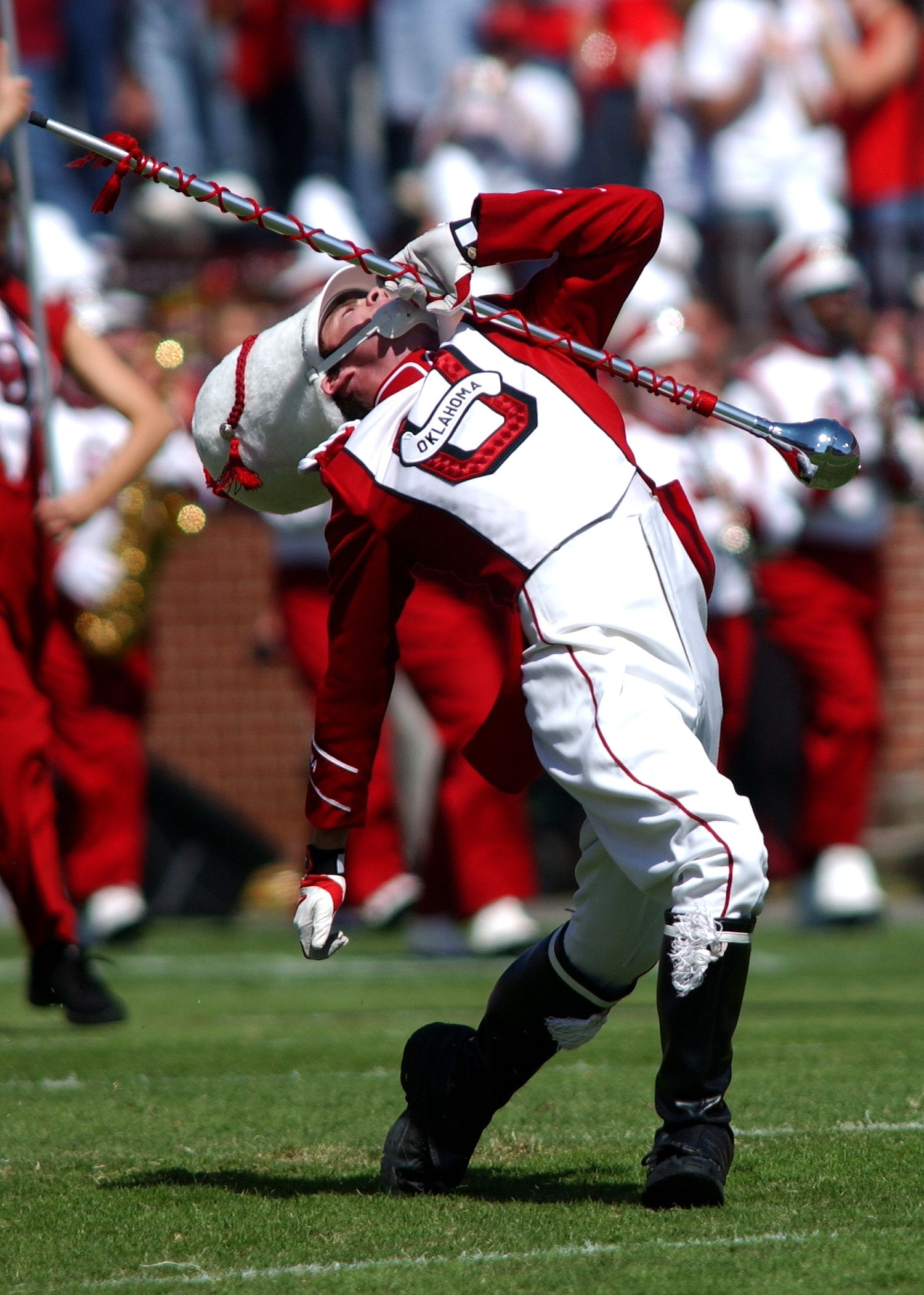 The Pride of Oklahoma Marching Band (My favorite part of