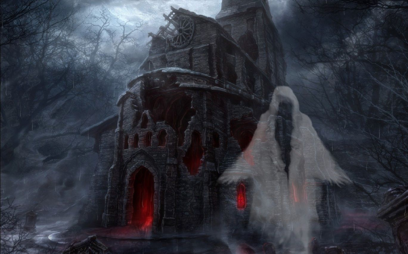 halloween terror animated wallpaper with horror scenes and animated effects to scare you with fantastics animations and very real sound effects - Free Halloween Sounds Downloads