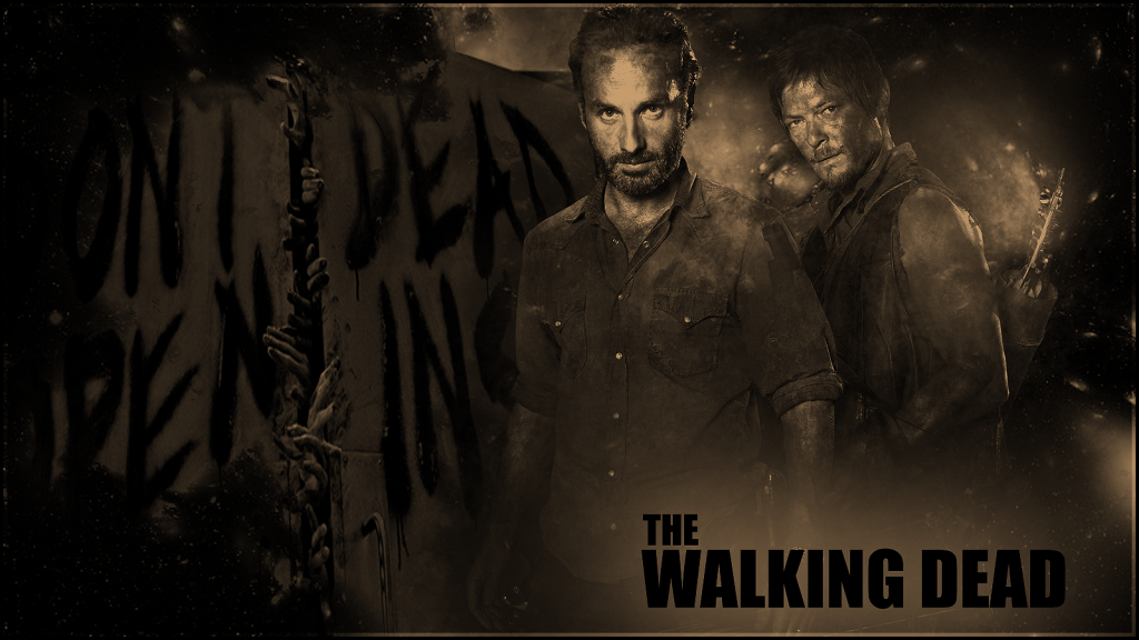 The Walking Dead Daryl Wallpaper Hd