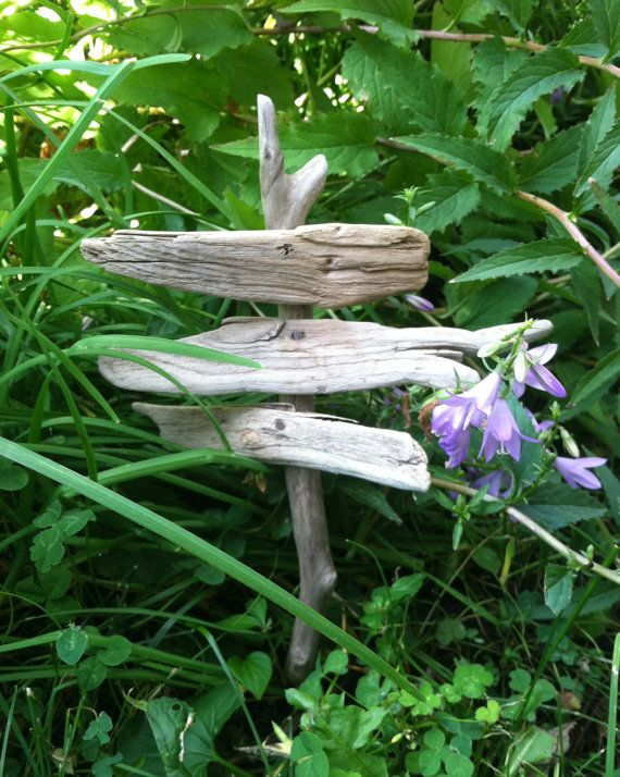 fairy garden signpost, blank signs, miniature signpost for fairy garden, rustic natural signs