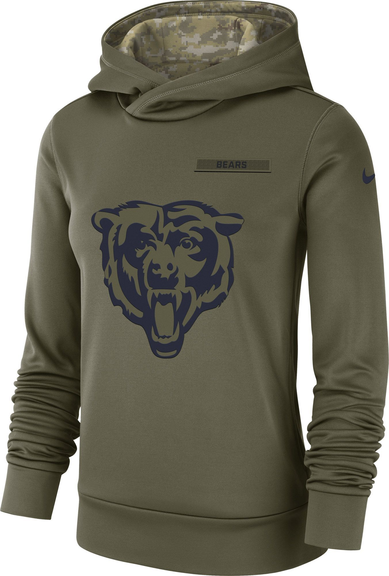 19d9082b7 Nike Women s Salute to Service Chicago Therma-FIT Performance Hoodie ...