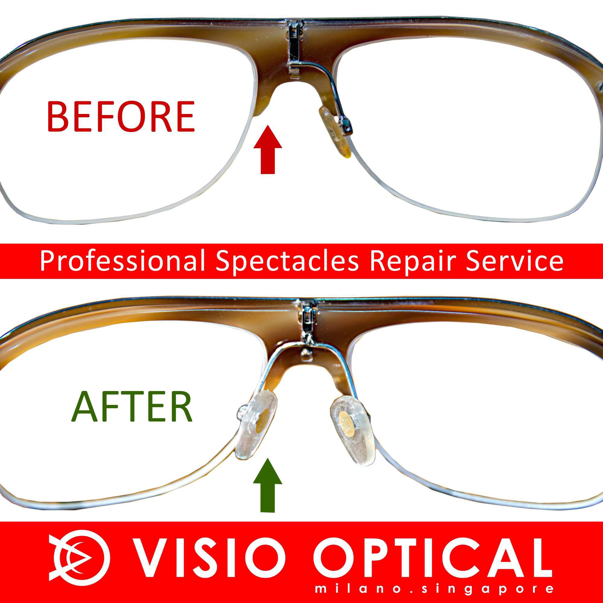 5256f3fa0be0 Visio Optical. Full service optical shop in Singapore near Holland Village.  Thousands of frames from designer to simple chic. Direct import from Italy.