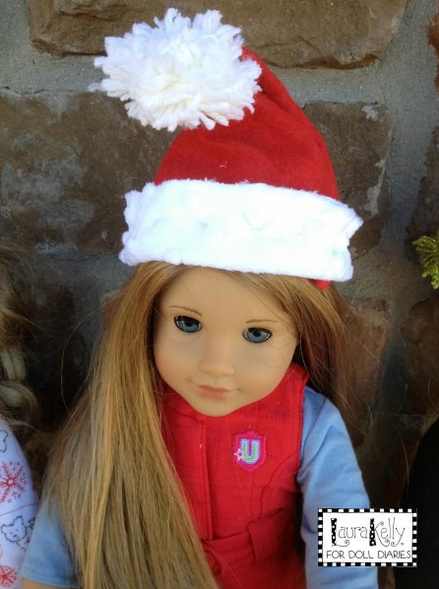 a5e77fbbb8838 Doll Santa Hat Pattern