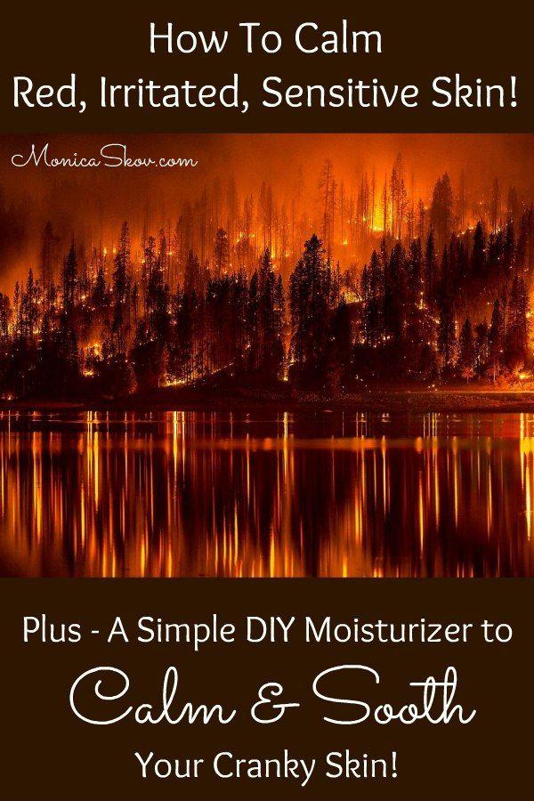 How to Fix Red, Irritated, Sensitive Skin