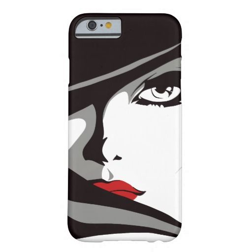 Diva Illustration Barely There iPhone 6 Plus Case - Jan 26