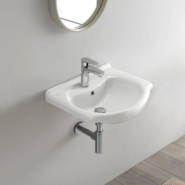 Small Ceramic Wall Mounted Or Drop In Sink Drop In Bathroom
