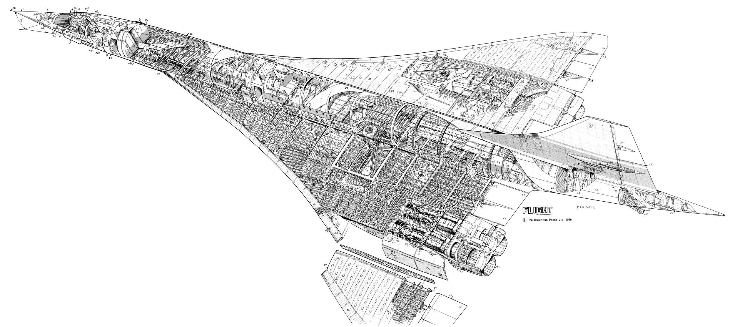 Bac Aerospatiale Concorde