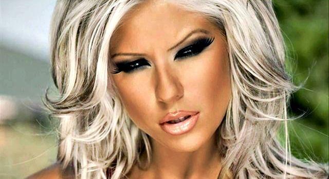 Ich mache immer mein Make-up, wie dieses Bild ;)