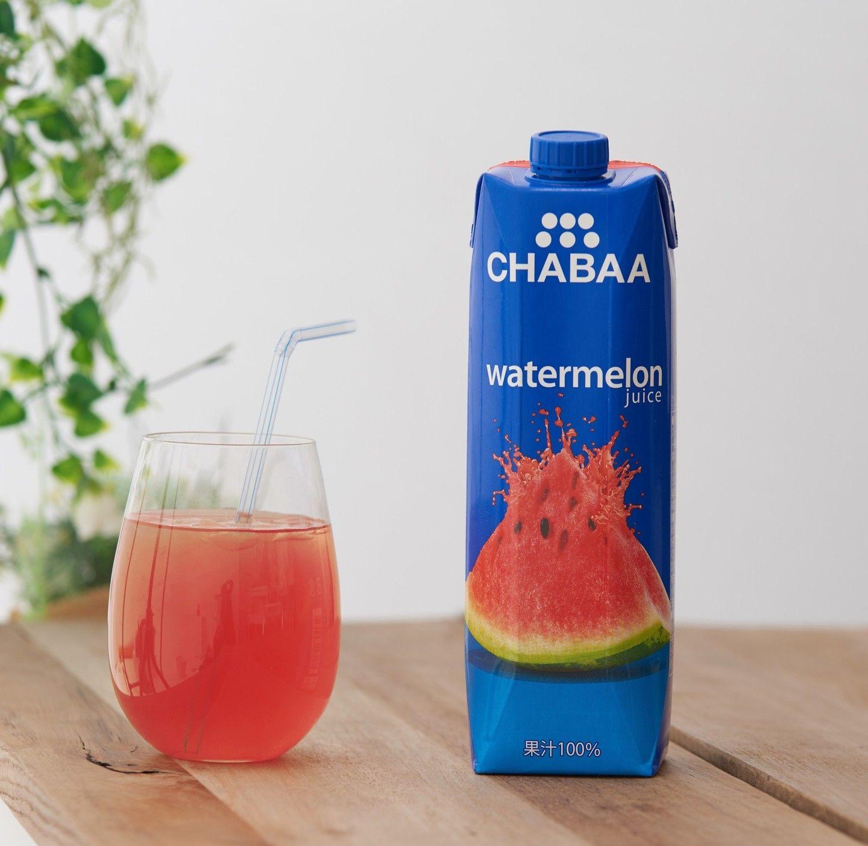 Chabaa のスイカジュースが人気 ローソンでは秋冬も販売へ スイカジュース ココナッツウォーター ジュース