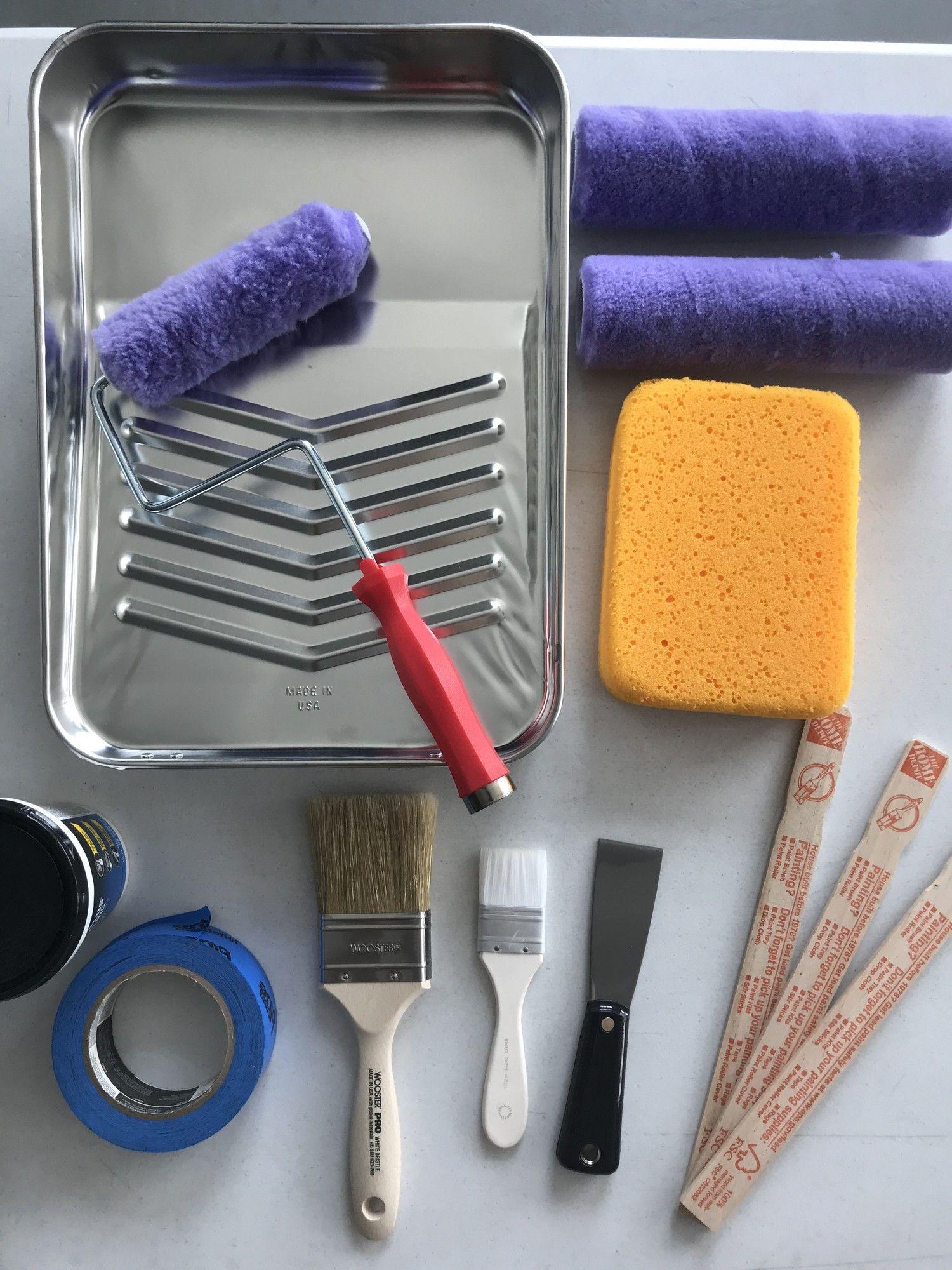 Painting Tools Materials Painting Walls Tips Painting Bathroom Wall