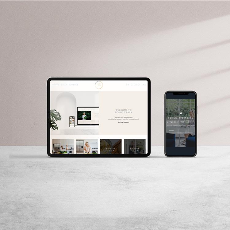 Cecilia Rosenberg In 2020 Small Business Branding Website Design Business Branding
