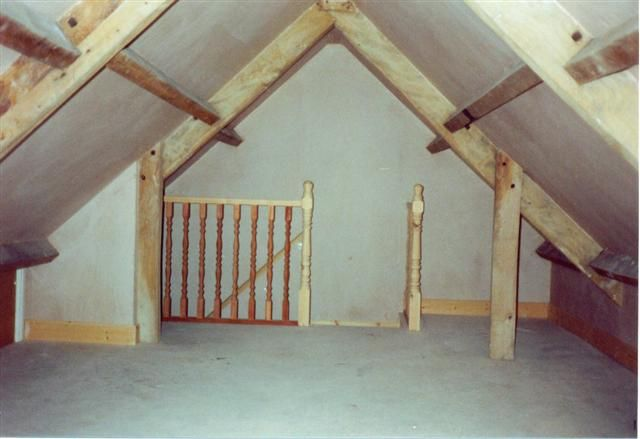 Bare Loft Conversion Attic Renovation Attic Flooring Attic Remodel