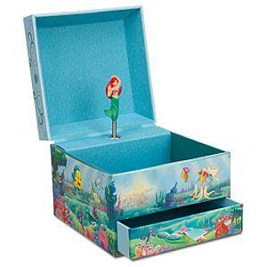 Disney Ariel Jewelry Box Disney StoreAriel Jewelry Box A little