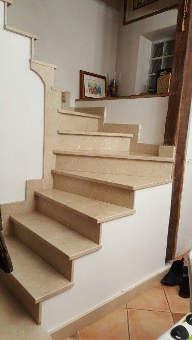 escalier marbre Travaux de finition en 2 couche peinture    TEXAS