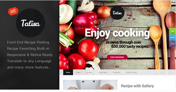 Download talisa v11 food recipes wp theme free blogging pinterest download talisa v11 food recipes wp theme free forumfinder Choice Image