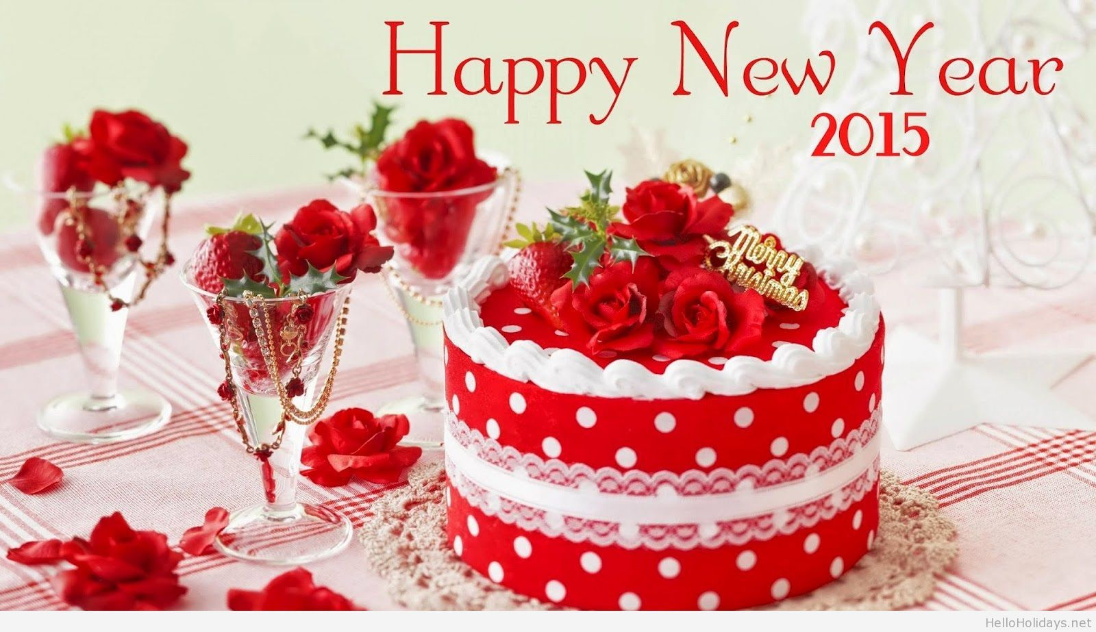 Happy New Year 2015 Party Background Voeux Pinterest Party