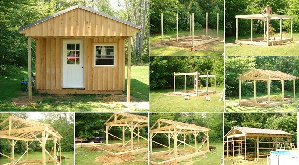 Comment Construire Une Cabane 12x20 (36x6) Pas Cher - Small Spaces - Construire Sa Maison En Palette