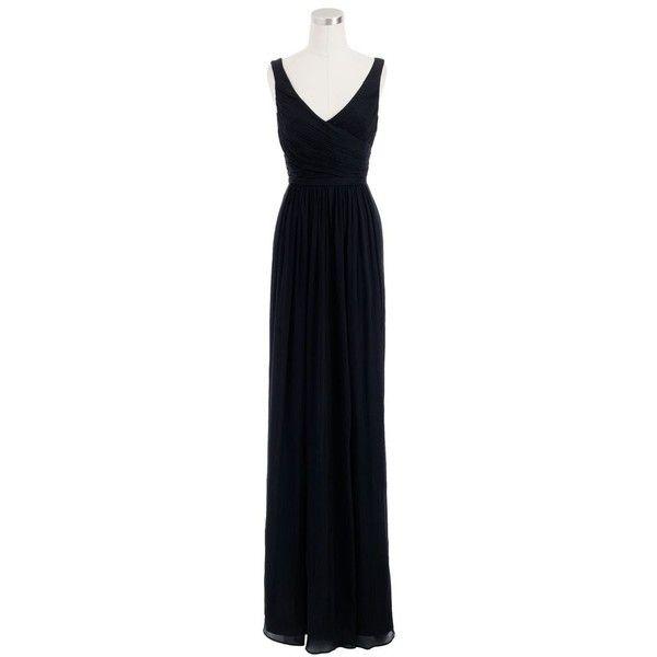J.Crew Petite Heidi Long Dress (664 AUD) ❤ liked on Polyvore ...