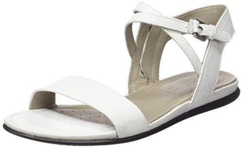 Ecco ECCO TOUCH SANDAL, Damen Knöchelriemchen Sandalen, Weiß (WHITE11007), 38 EU (5 Damen UK) - http://on-line-kaufen.de/ecco/38-eu-ecco-touch-damen-knoechelriemchen-sandalen-6