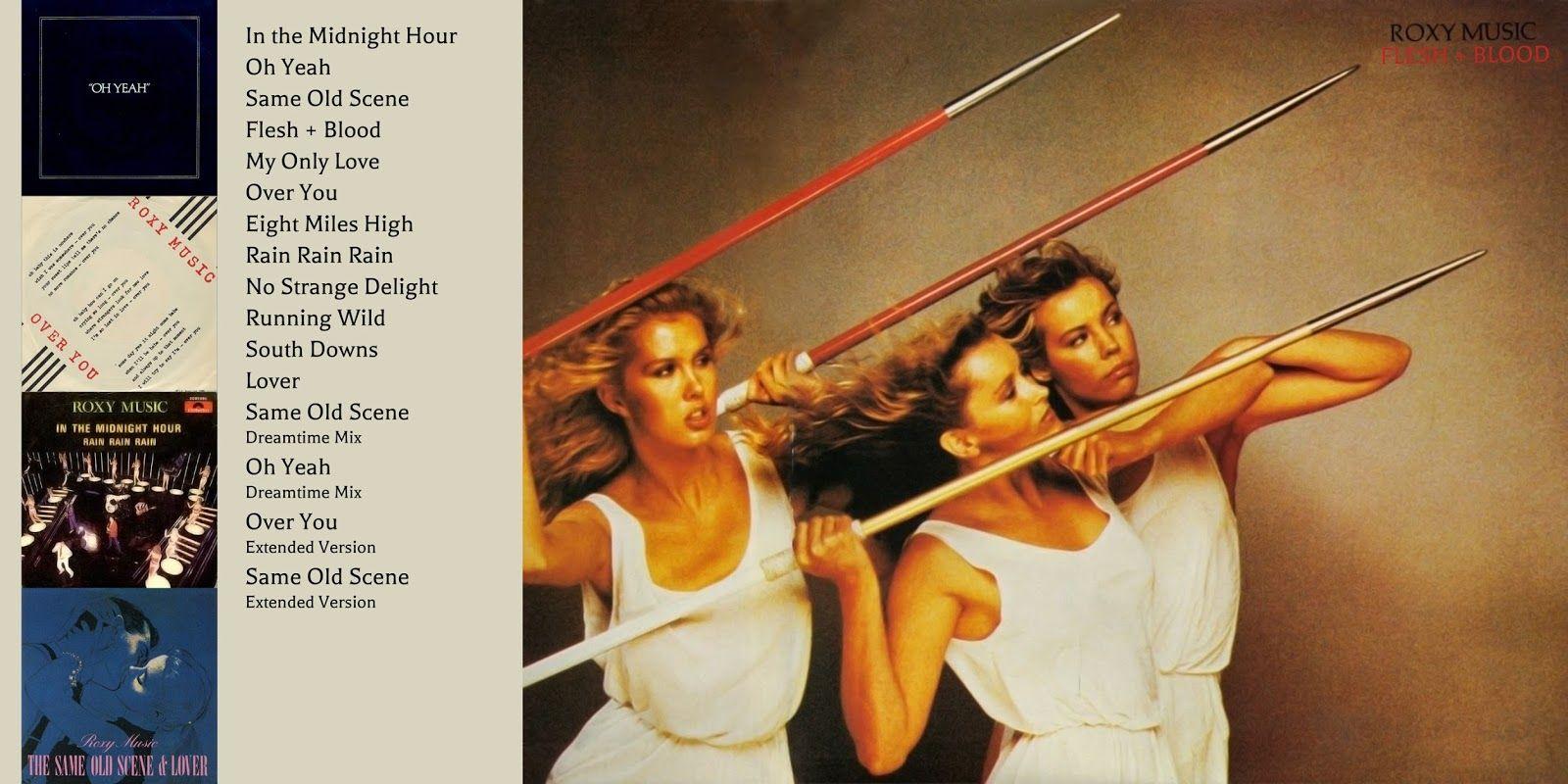 specifiek aanbod beste plaats een grote verscheidenheid aan modellen Ad for Flesh + Blood 1980 | Roxy Music | Roxy music, Post ...