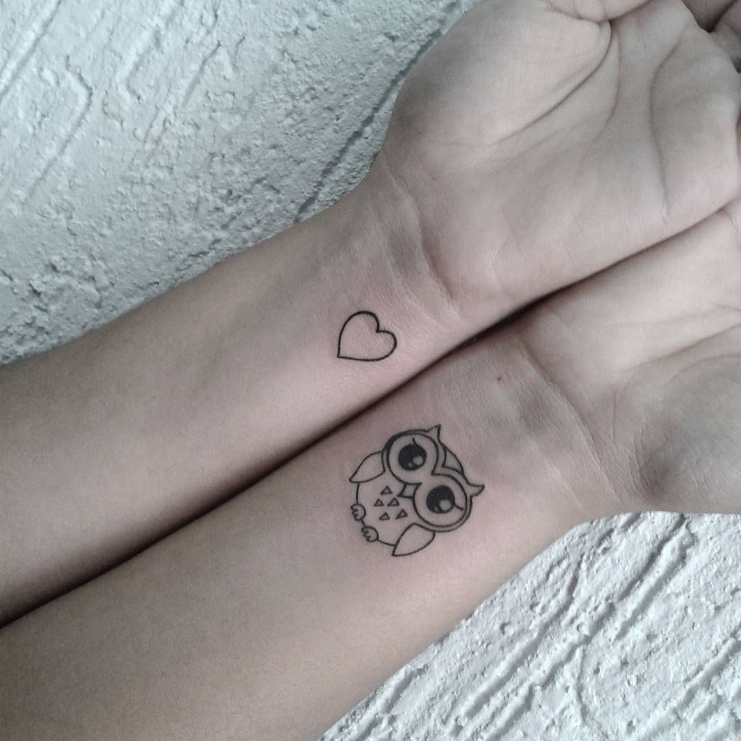 Cute Black Outline Small Owl Tattoo On Wrist Cute Owl Tattoo Owl Tattoo Small Simple Owl Tattoo