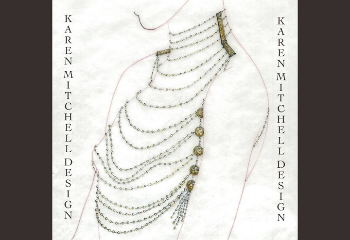 Jewelry Renderings Copyright Karen Mitchell Design by Karen Mitchell