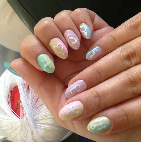Sailor Moon Nails Sailor Moon Nails Moon Nails Kawaii