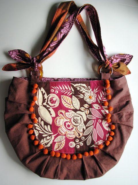 Bonsai Bag Sewing Pattern | Handtasche beutel, Beutel und Rucksäcke