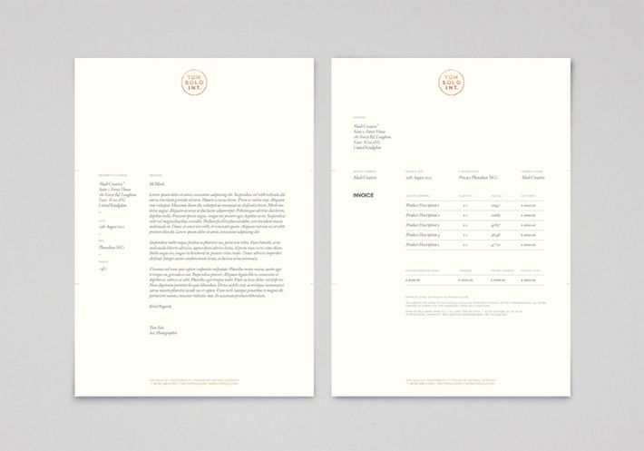Pin by Do Not Design on Branding Pinterest Stationary - graphic design invoice sample