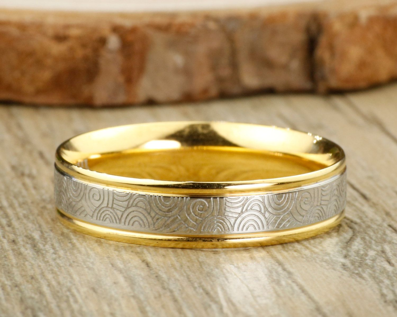 Rustic Men Ring Silver Copper Ring Men S Engagement Ring Mens Wedding Band Unique Men S Silv Rugged Wedding Ring Engagement Rings For Men Mens Wedding Rings
