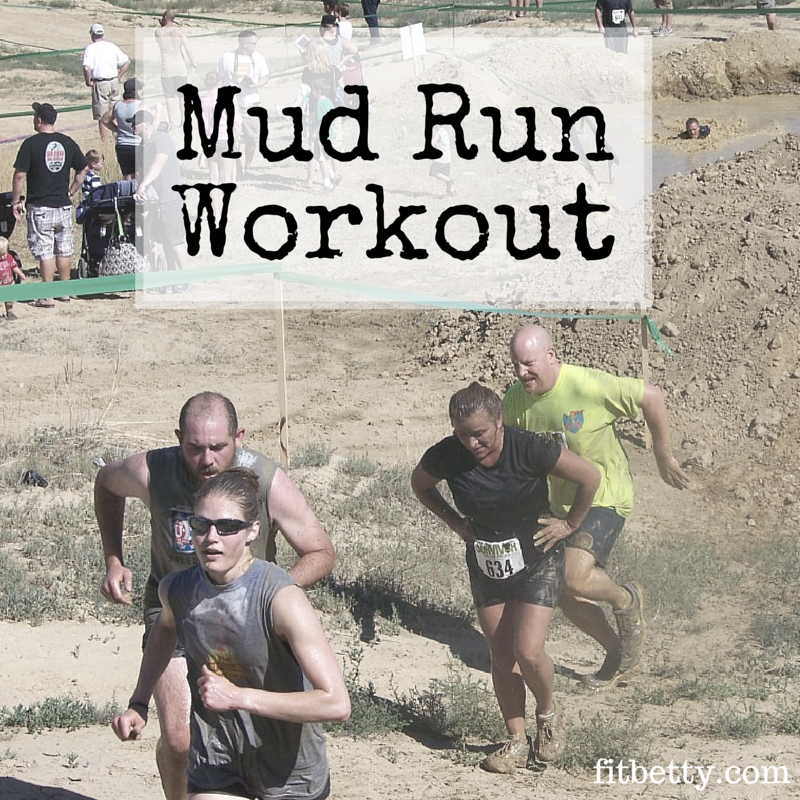 A Runner Shapes Up A Tired Staircase: Signed Up For A Mud Run? Get In Shape For It With This