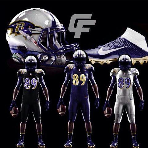 Baltimore Ravens Concept Uniform Ideas Love Them Baltimore Ravens Football Helmets Baltimore