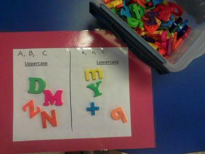 Miss. Llewellyn's Kindergarten: Uppercase & Lowercase