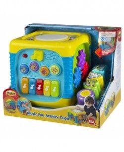 Cubo Musical De Actividades Juguetes Para Bebé Ropa Para Bebe Varones Bebe