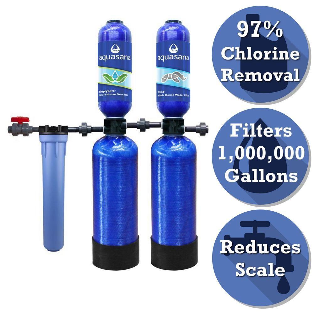 Aquasana Rhino Series 6 Stage 1 000 000 Gal Whole House Water