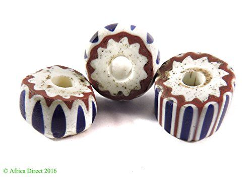 3 Chevron Venetian Trade Beads Four Layer Africa Loose Check Out This Great Product Trade Beads Craft Room Pinterest Favorite