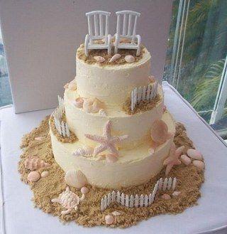 Mariage Thème Mer Wedding Themed Wedding Cakes