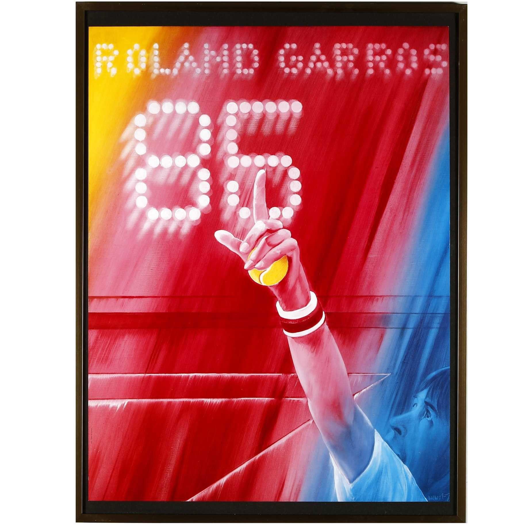 MONORY. Roland Garros 1985
