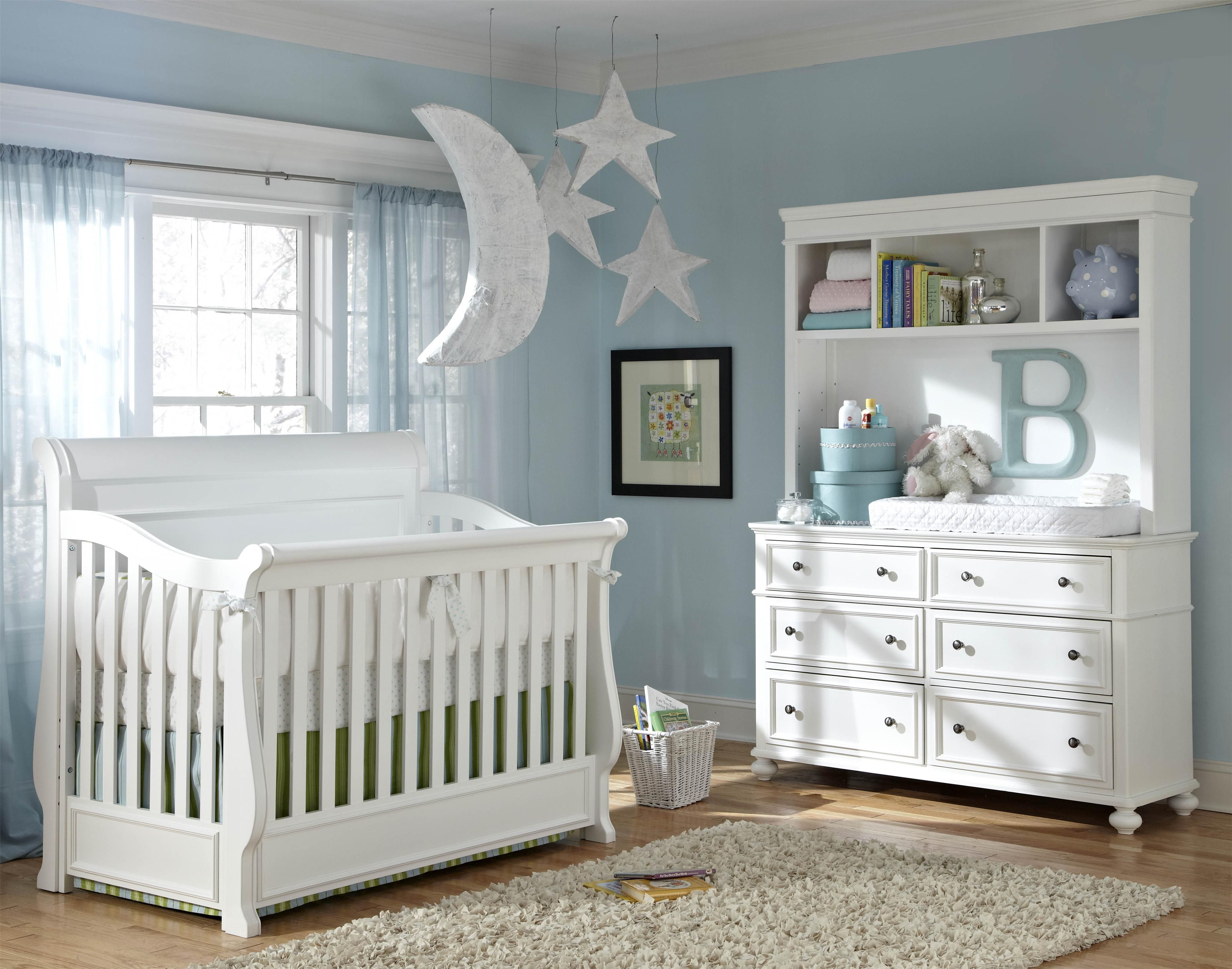 Sweet Dreams To Be Had In This Classy Nursery All White Is So Calming And Let S You Pick The Accent Best Baby