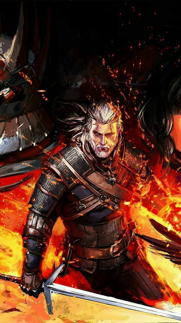 Witcher Witcher Wallpaper Witcher Ilustracao Bonita