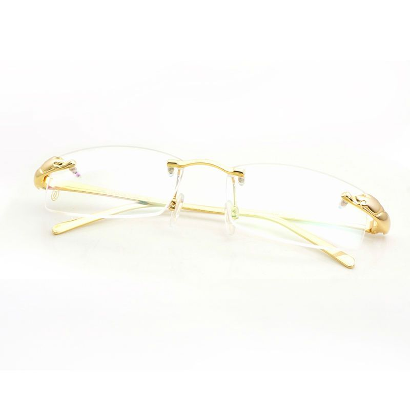 Rimless Glasses Clear Gold Glasses Frames Carter Glasses Frames ...