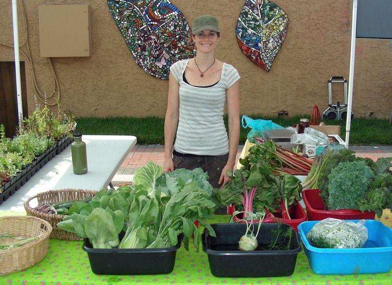 Calvert farm natural food farmers market slow food