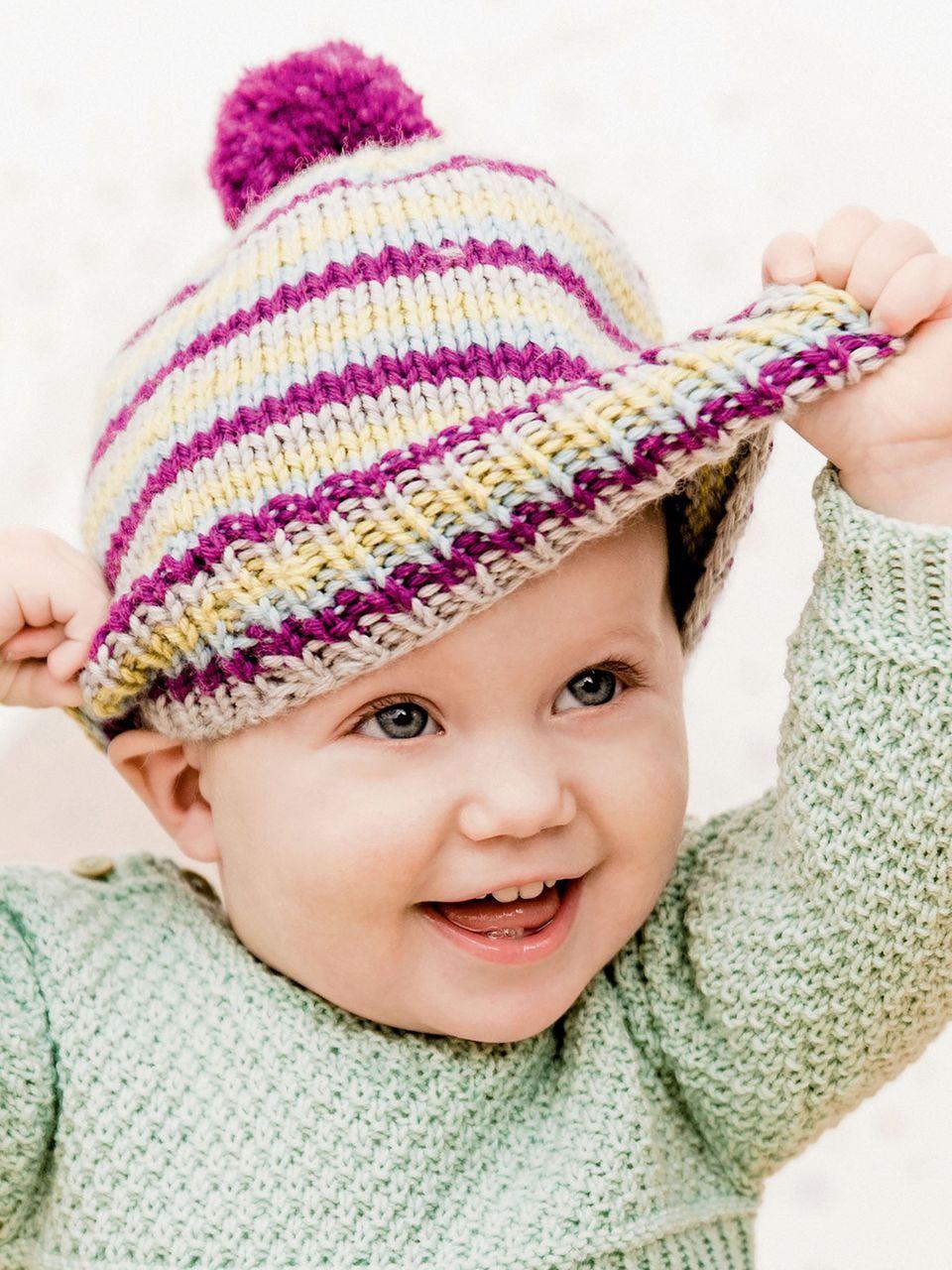 Großartig Schnell Baby Strickmuster Galerie - Strickmuster-Ideen ...
