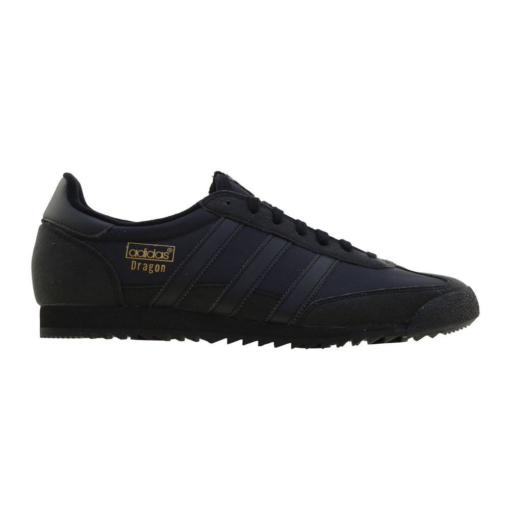 super popular 79f62 928cf Adidas Originals Mens Dragons OG Suede Trainers Retro Vintage Uk Sizes Mens  BLK  adidas  TrainersShoesSneakers