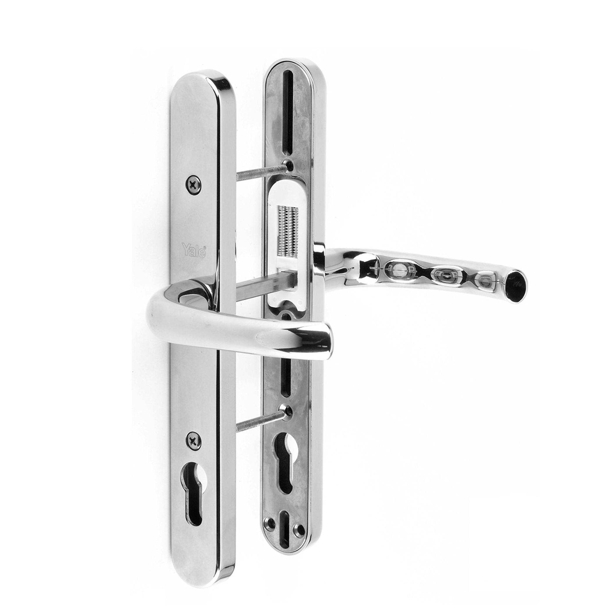 The Yale Adjustable Upvc Door Handles Are Ideal For The Screw Hole Centres Are Unknown Or If The Original Handl Upvc Door Handles Door Handle Sets Door Handles