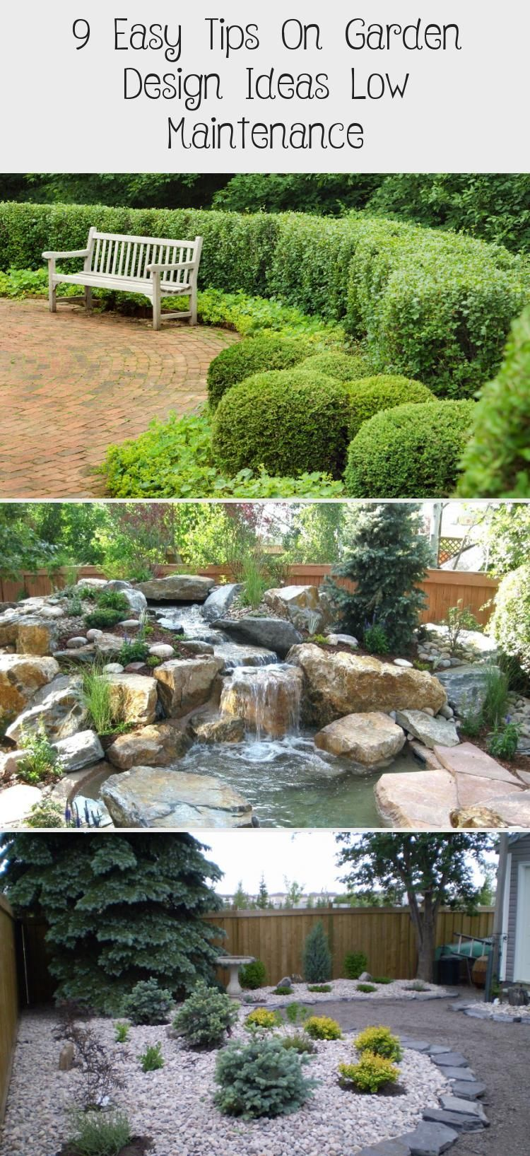 9 ideas for small, cheap and low maintenance gardens #low #ideas #small #beautifull #garden     Creating tension through level differences  New rooms ca    Especially in a lovingly designed and maintained garden, an unused and unsightly corner can be very annoying. If this is also not suitable for planting due to unfavorable location conditions, one wonders what else to do with this dead corner. But there are some possibilities that you... #beautif #Cheap #gardens #Ideas #maintenance #small