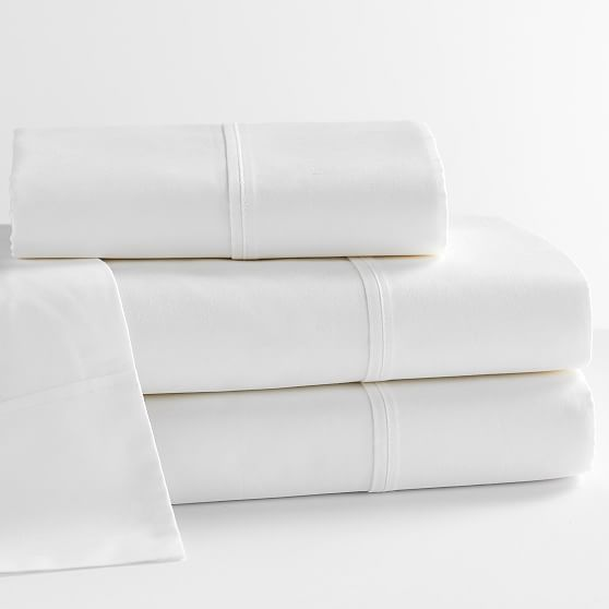 Design Crew Basics Organic Cotton Sheet Set King White