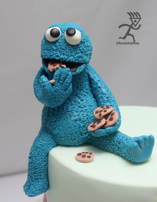 C is for Cookie with Cookie Monster Tutorial