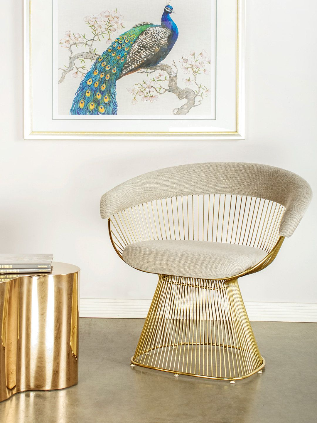 Awesome Platner Accent Chair By Statements By J At Gilt Accent Gamerscity Chair Design For Home Gamerscityorg
